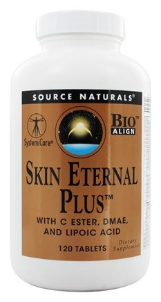 DROPPED: Source Naturals - Skin Eternal Plus - 120 Tablets