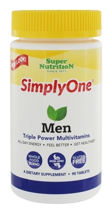 Zoom View - Simply One Men Multivitamin