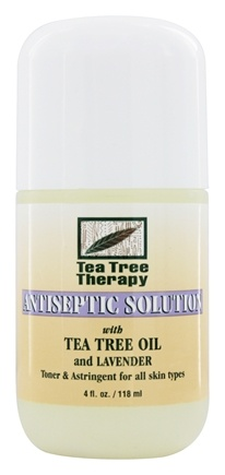 Tea Tree Therapy - Antiseptic Solution with Tea Tree Oil & Lavender - 4 oz.