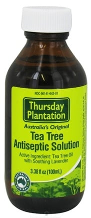 DROPPED: Thursday Plantation - Tea Tree Plus Antiseptic Solution with Soothing Lavender - 3.38 oz.