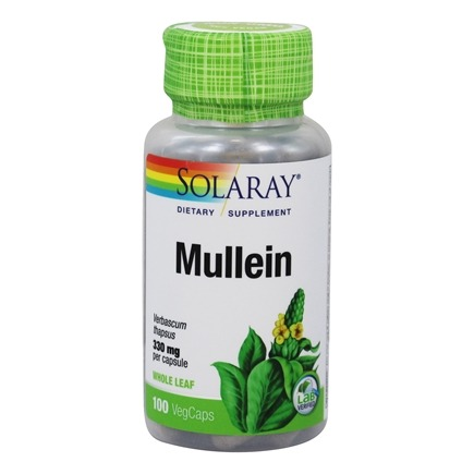 Solaray - Mullein 330 mg. - 100 Capsules