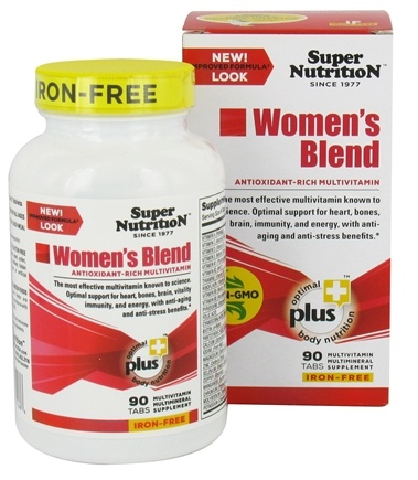 Zoom View - Women's Blend Iron Free