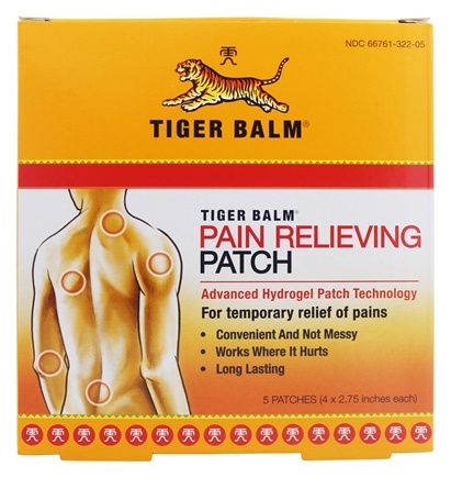 Tiger Balm - Pain Relieving Patch - 5 Patch(es)