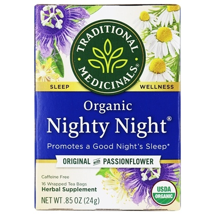 Traditional Medicinals - Organic Nighty Night Tea - 16 Tea Bags