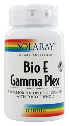 Solaray - Bio E Gamma Plex - 60 Softgels