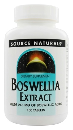 Source Naturals - Boswellia Extract - 100 Tablets
