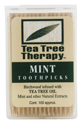 Tea Tree Therapy - Toothpicks Tea Tree - 100 Pick(s)