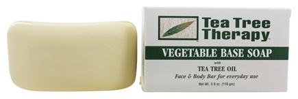 Tea Tree Therapy - Vegetable Based Soap with Tea Tree Oil - 3.9 oz.