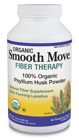 Zoom View - Smooth Move Fiber Therapy Organic Psyllium Husk Powder
