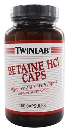 how to use betaine hcl