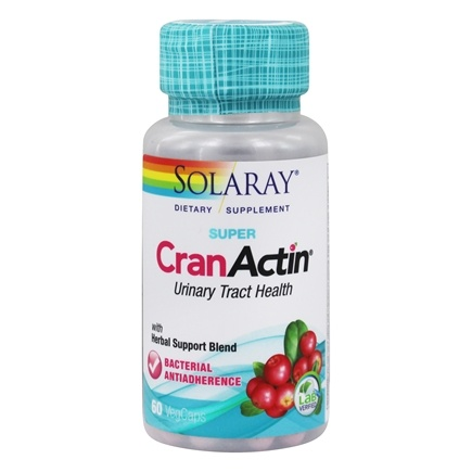 DROPPED: Solaray - Super CranActin - 60 Vegetarian Capsules