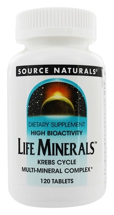 Zoom View - Life Minerals High Bioactivity Krebs Cycle Multi-Mineral Complex
