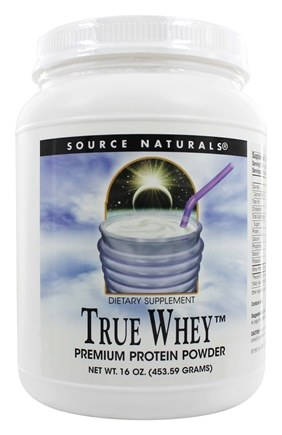 Source Naturals - True Whey Premium Protein Powder - 16 oz.