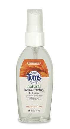 DROPPED: Tom's of Maine - Natural Deodorizing Body Spray Calendula - 2 oz.