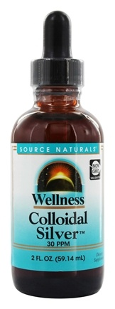 Source Naturals - Wellness Colloidal Silver 30 Ppm - 2 oz.
