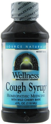 Zoom View - Wellness Cough Syrup With Wild Cherry Bark