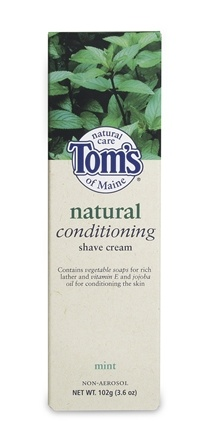 DROPPED: Tom's of Maine - Natural Shave Cream Mint - 3.6 oz.