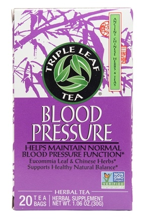 Triple Leaf Tea - Blood Pressure Tea - 20 Tea Bags