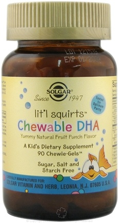 Zoom View - Litl's Squirts Chewable DHA
