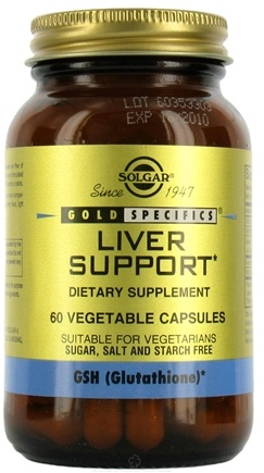 DROPPED: Solgar - Liver Support - 60 Vegetarian Capsules