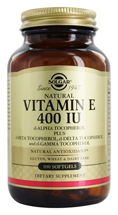 Zoom View - Vitamin E d-Alpha Tocopherol