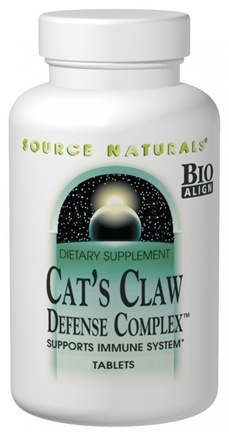 DROPPED: Source Naturals - Cat's Claw Defense Complex - 120 Tablets