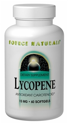 DROPPED: Source Naturals - Lycopene 10 mg. - 60 Softgels