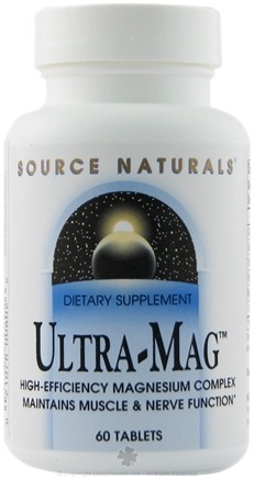 DROPPED: Source Naturals - Ultra-Mag - 60 Tablets CLEARANCE PRICED
