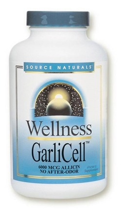 DROPPED: Source Naturals - Wellness GarliCell - 90 Tablets