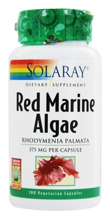 Solaray - Red Marine Algae - 100 Capsules