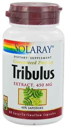 DROPPED: Solaray - Guaranteed Potency Tribulus Extract 450 mg. - 60 Capsules CLEARANCE PRICED