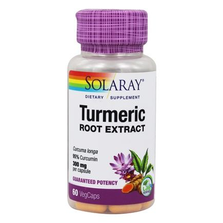 Solaray - Guaranteed Potency Turmeric Root Extract 300 mg. - 60 Capsules