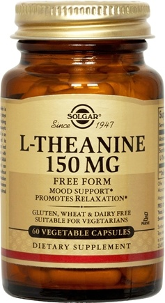 DROPPED: Solgar - L-Theanine 150 mg. - 60 Vegetarian Capsules