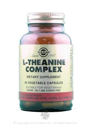 DROPPED: Solgar - L-Theanine Complex - 60 Vegetarian Capsules CLEARANCE PRICED