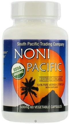 DROPPED: South Pacific Trading Company - Noni Pacific 500 mg. - 60 Capsules