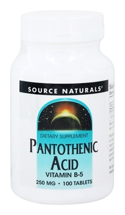 Zoom View - Pantothenic Acid Vitamin B-5
