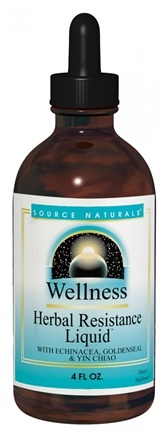 Zoom View - Wellness Herbal Resistance Liquid Alcohol Free