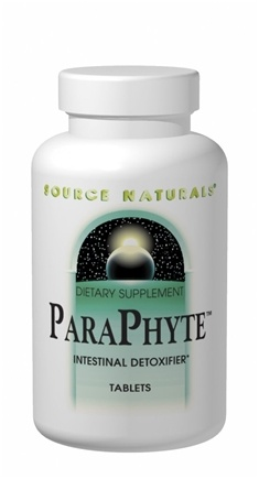 DROPPED: Source Naturals - ParaPhyte Intestinal Detoxifier - 60 Tablets