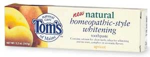 DROPPED: Tom's of Maine - Natural Homeopathic-Style Whitening Toothpaste - 5.2 oz.