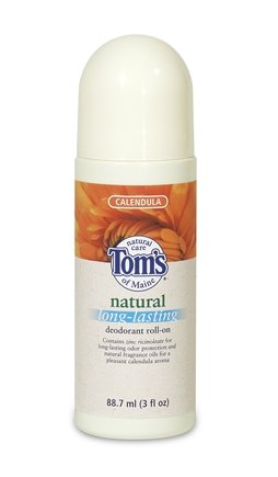 DROPPED: Tom's of Maine - Natural Long-Lasting Deodorant Roll-On Calendula - 3 oz.