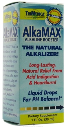 DROPPED: Trimedica - Alka Max Liquid Drops for pH Balance - 1 oz.