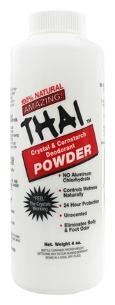 Zoom View - Thai Crystal and Cornstarch Deodorant Body Powder