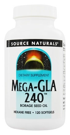 Zoom View - Mega-GLA 240 Borage Seed Oil