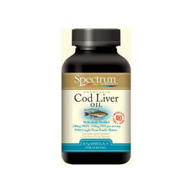 DROPPED: Spectrum Essentials - Cod Liver Oil 520 mg. - 90 Softgels CLEARANCE PRICED