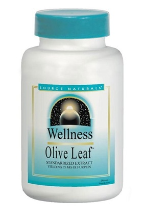 DROPPED: Source Naturals - Wellness Olive Leaf - 120 Tablets