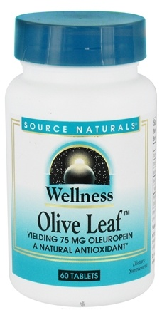 DROPPED: Source Naturals - Wellness Olive Leaf - 60 Tablets CLEARANCE PRICED