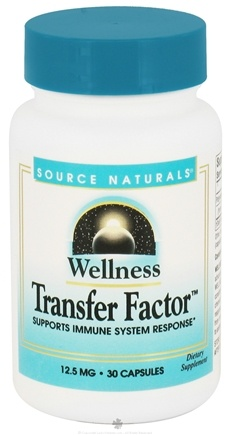 DROPPED: Source Naturals - Wellness Transfer Factor 12.5 mg. - 30 Capsules CLEARANCED PRICED