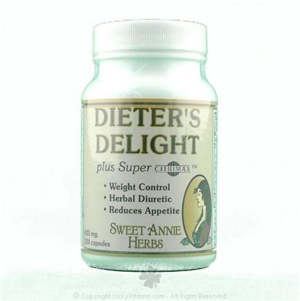 DROPPED: Sweet Annie Herbs - Dieter's Delight Capsules - 120 Capsules