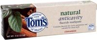 DROPPED: Tom's of Maine - Natural Anticavity Fluoride Toothpaste Cinnamint - 6 oz.