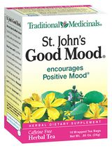DROPPED: Traditional Medicinals - Saint John's Good Mood Tea - 16 Tea Bags CLEARANCE PRICED